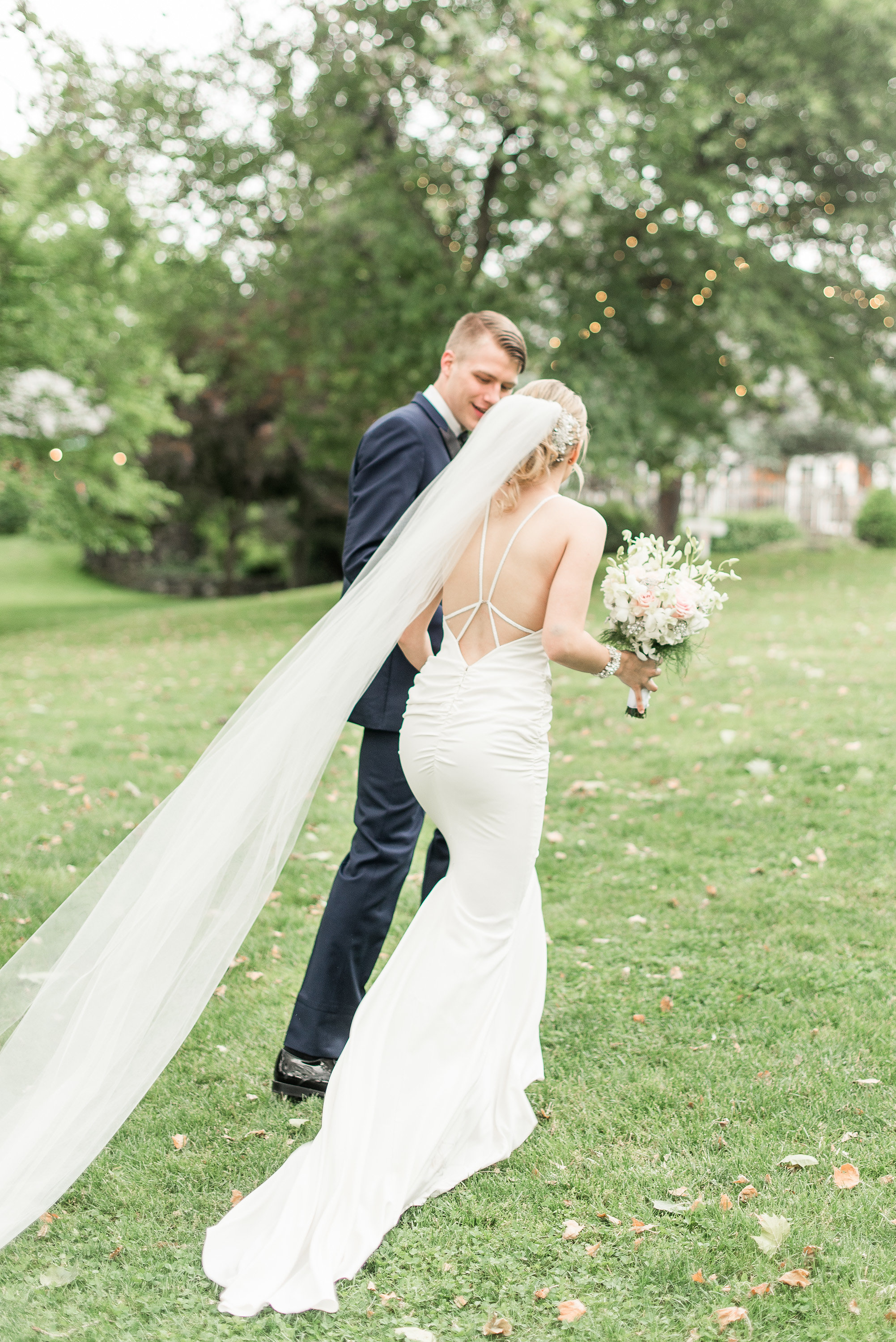Blush Tone Wedding At Riverdale Manor